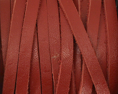 Corida Red Leather Belting Lace 5mm