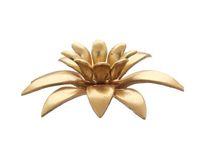 Brass Daffodil 34mm