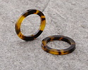 Zola Elements Tortoise Shell Acetate Ring 24mm