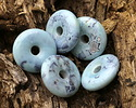 Arctic (light) Terra Agate Donut 26mm