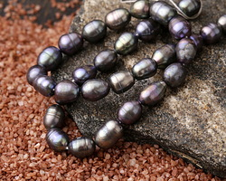 Peacock Freshwater Rice Pearl 7-8mm