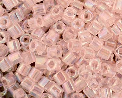 TOHO Dyed Rainbow Ballerina Pink Cube 1.5mm Seed Bead