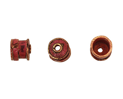Patricia Healey Copper Barrel Bead Cap 10mm