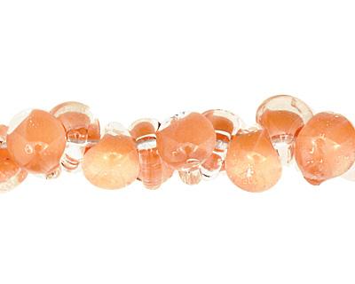 Unicorne Beads Tangerine Teardrop 7x9mm