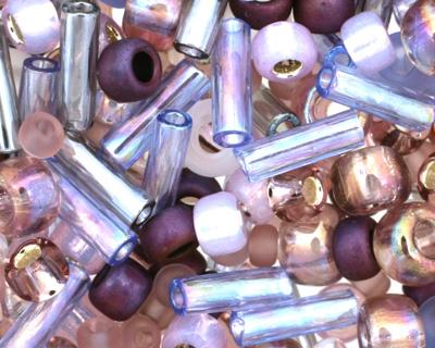 TOHO Kimono Lilac Seed Bead Mix