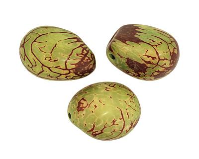 Tagua Nut Apple Nugget 40-45x32-36mm