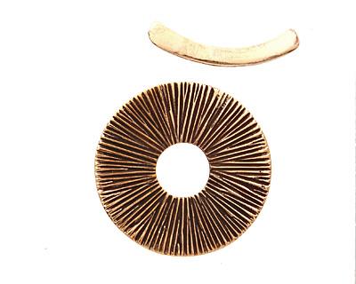 Saki Bronze Radiant Toggle 31mm, 27mm bar