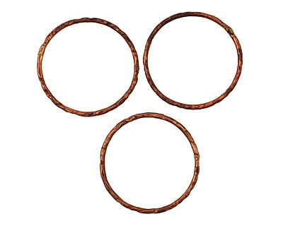 Missficklemedia Patinated Chestnut Link 27mm