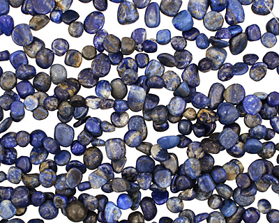 Lapis Tumbled Nugget Drop 7-12x9-17mm