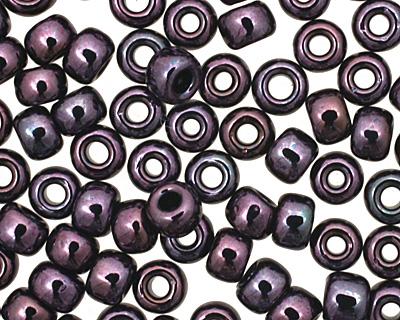 TOHO Metallic Amethyst Gun Metal Round 8/0 Seed Bead
