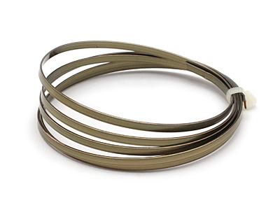 Flat Artistic Wire Antique Brass 21 gauge, 3 feet