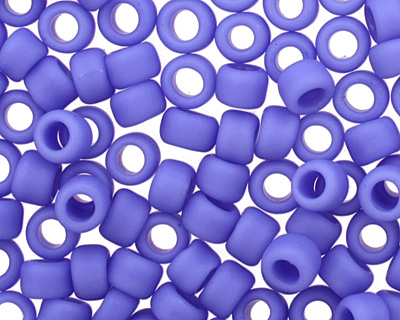 TOHO Opaque Frosted Periwinkle Round 8/0 Seed Bead