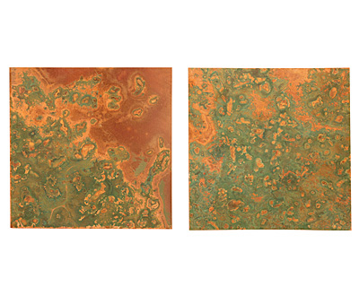 Lillypilly Verde Patina Copper Sheet 3
