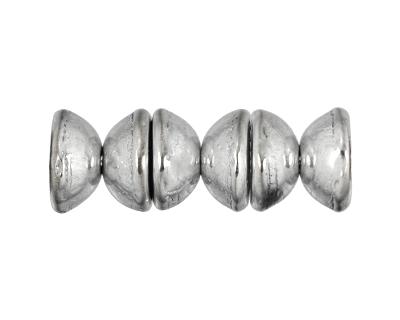 Silver Teacup 2x4mm Seed Bead
