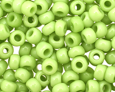 TOHO Opaque Sour Apple Round 8/0 Seed Bead