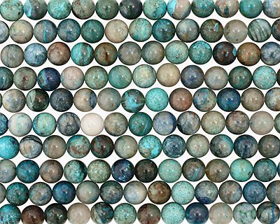 Chrysocolla Round 10mm