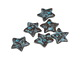 Greek Copper (plated) Patina Star Charm 12mm