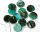 Zola Elements Turquoise Bullhorn Acetate Coin Focal 20mm