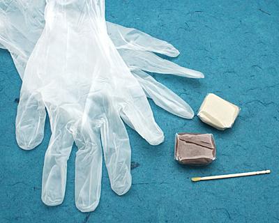 Copper Crystal Clay 25 grams