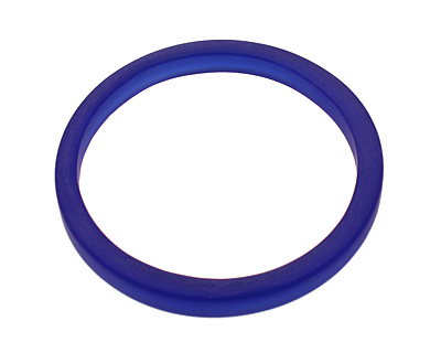 Trinket Foundry Cobalt Large Glass Bottle Ring 60-62mm