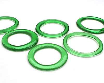 Green Soda Glass Bottle Ring 55-60mm