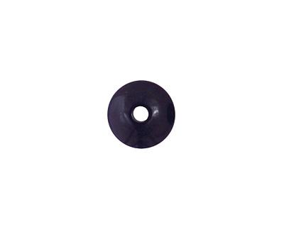 Tagua Nut Midnight Rondelle 3x8mm