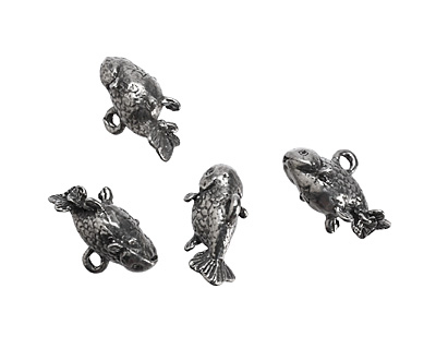Green Girl Pewter Fish 23x13mm