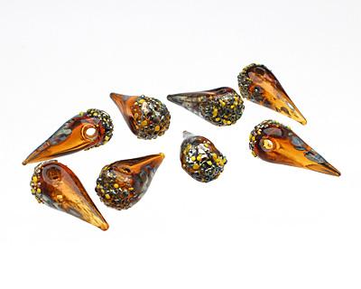 Unicorne Beads Happy Spike (hollow) 10-12x28-29mm