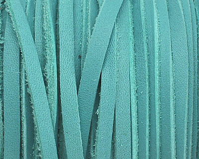 Turquoise Deertan Leather Lace 3mm