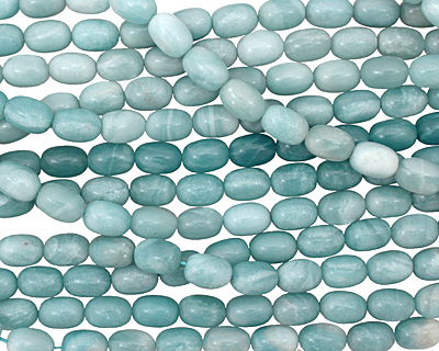 Amazonite Barrel 14x10mm