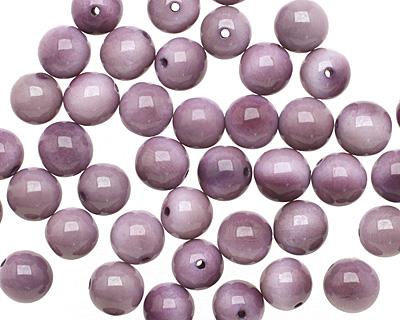 Tagua Nut Violet Round 11-12mm