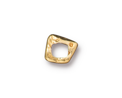 TierraCast Gold (plated) Link 6x5mm