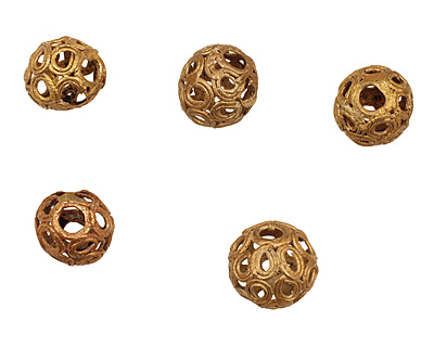 African Brass Open Circle Round 18-19mm