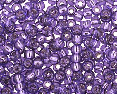 TOHO Purple (with Silver Lining) Round 11/0 Seed Bead