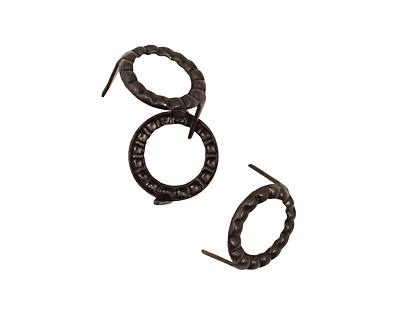 Vintaj Arte Metal Hobnail Petite Ring Decorivet 12mm
