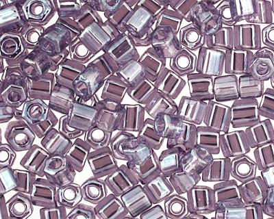 TOHO Transparent Lustered Sugar Plum Hex 11/0 Seed Bead