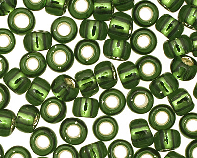 TOHO Olivine (with Silver Lining) Round 8/0 Seed Bead