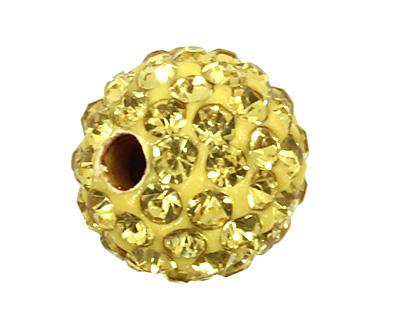 Dandelion Pave Round 8mm