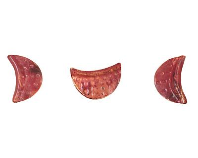 Patricia Healey Copper Half Moon 26x16mm
