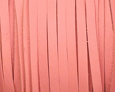 Pink Deertan Leather Lace 3mm