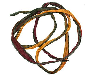 Regal Robes Hand Dyed 100% Silk Ribbon 1/2