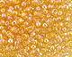 TOHO Transparent Rainbow Light Topaz Round 8/0 Seed Bead