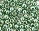 TOHO Permanent Galvanized Jade Green Round 11/0 Seed Bead