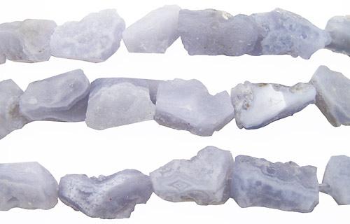 Chalcedony Druzy Nuggets 22-43x15-20mm