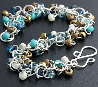 Weave Got Maille Sedona Shaggy Loops Bracelet Kit