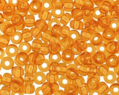 TOHO Transparent Topaz Round 11/0 Seed Bead
