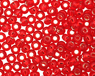 TOHO Ruby (with Silver Lining) Round 11/0 Seed Bead