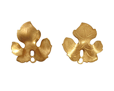 Brass Maple Leaf 22x23mm