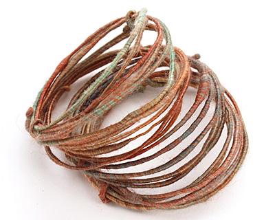 Autumn Silk WoolyWire 24 gauge, 3 feet
