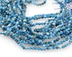Pacific Blue Apatite Faceted Round 2.5-3mm